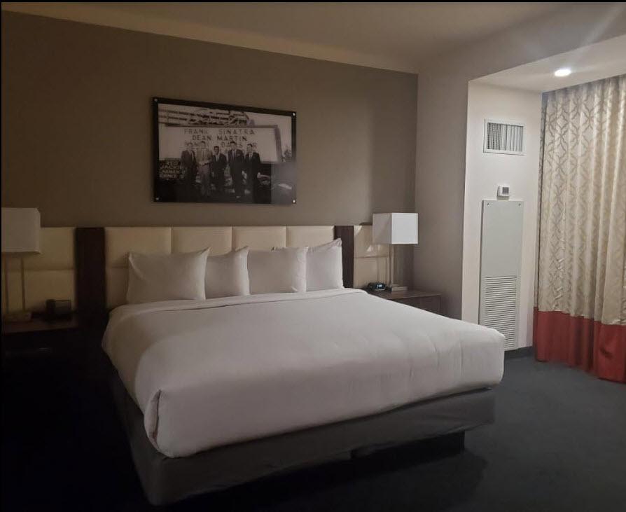 ahern hotel room